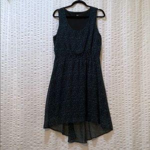 High/low dot pattern Mossimo dress